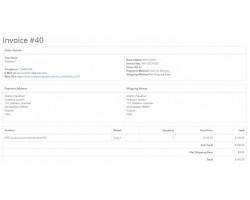 Auto Generate Order Print Invoice