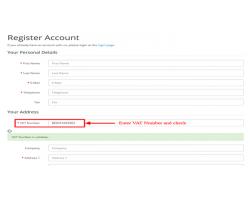 VIES EU VAT number validation