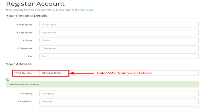 VIES EU VAT number validation