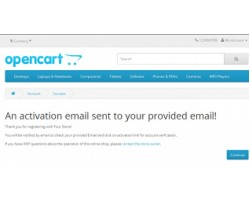 Account Activation by Email